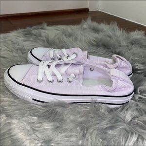 New Converse Sneakers Slip On Size 6 Lavender